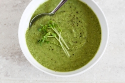 FRESH PEA AND FENNEL SOUP